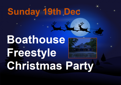 Modern Jive Freestyle Christmas Party. The Boathouse Evesham @ The Boathouse Evesham